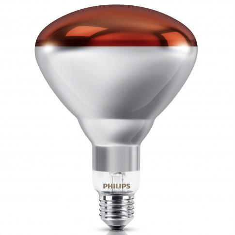 Bec cu infrarosu Philips incalzire IR150RH BR125 E27 150W