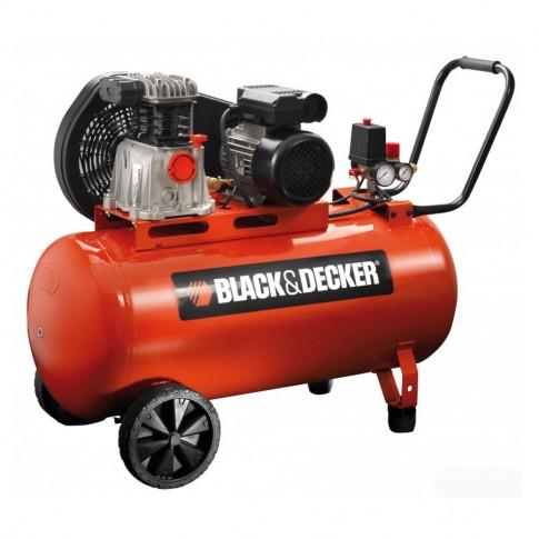 Compresor aer cu piston, cu ulei, Black&Decker BD 220/100-2M, 1.5 Kw, 2 CP, 100 litri