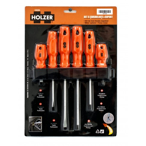 Set 6 surubelnite Holzer 538206