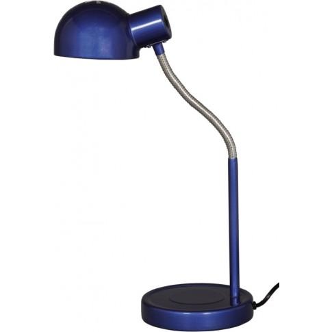 Veioza Teddy KL 2098, 1 x E27, albastru + crom