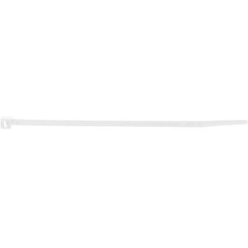 Banda zimtata 36300M(P)252030C, 2.5 x 200 mm, alba, 100 buc