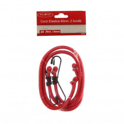 Corzi auto elastice, pentru ancorare, 60 cm, set 2 bucati