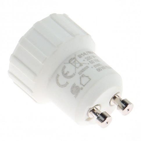 Adaptor dulie GU10  - E14 plastic Home