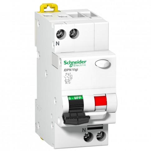 Intrerupator automat modular diferential Schneider Electric iDPN Vigi Clario A9D34640, 1P+N, 40A, curba C