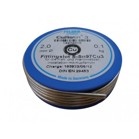 Aliaj pentru lipire, Felder,  2 mm, 100 g