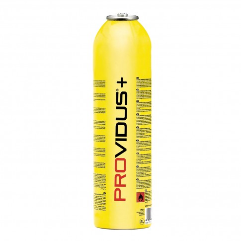 Butelie gaz, Providus CGV450L Gasex, cu valva 7/16, 450 g