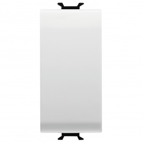 Intrerupator simplu Gewiss Chorus GW10001-1BL, incastrat, modular - 1, alb