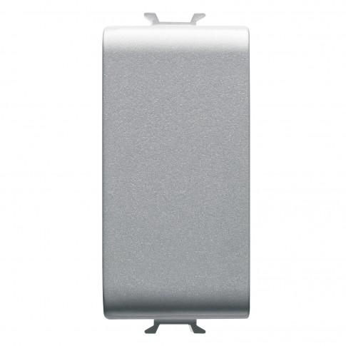 Obturator Gewiss Chorus GW14195-1BL, 1 modul, alb, pentru priza / intrerupator