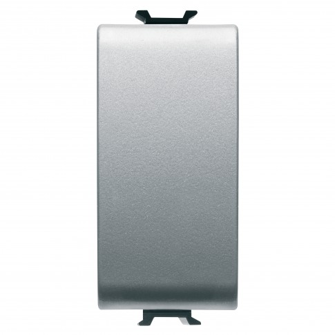 Intrerupator cap scara simplu Gewiss Chorus GW14051-1BL, incastrat, modular - 1, gri-titan