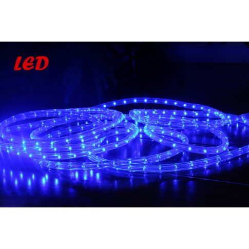 Cablu luminos LED Hoff albastru interior / exterior 11 mm