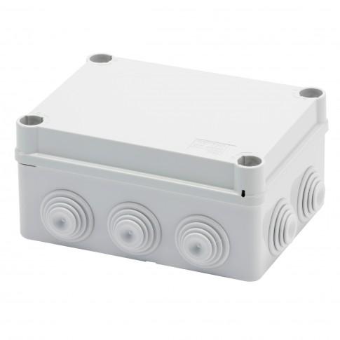 Doza derivatie 1/4T Gewiss GW44026, aparenta, IP55, 150 x 110 x 70 mm