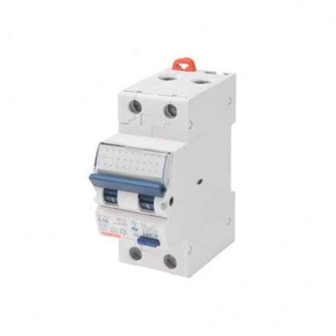 Intrerupator automat modular diferential Gewiss  GW94006, 1P+N, 10A, curba C