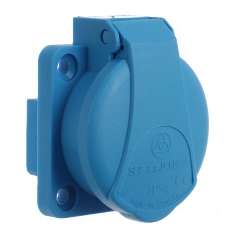 Priza industriala incastrata Sez 34-370, schuko, 230V IP54