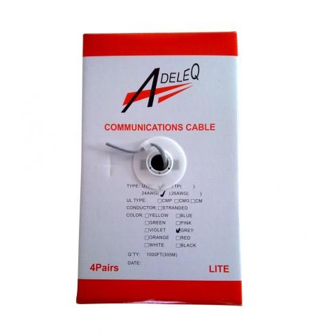 Cablu UTP CAT.5, 4 x 2 x 0.24 AWG 01-385, aluminiu cuprat