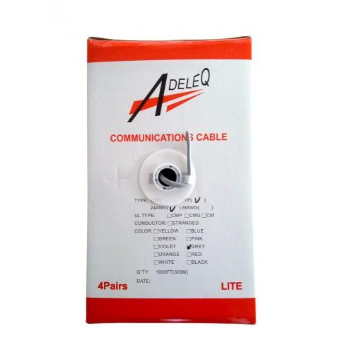 Cablu FTP CAT.5, 4 x 2 x 24 AWG01-386/5E, aluminiu cuprat
