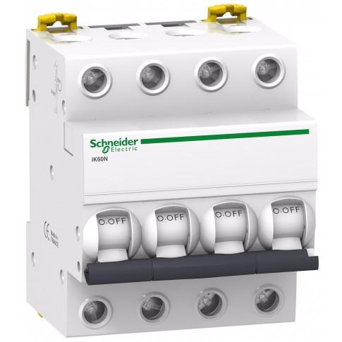 Intrerupator automat modular Schneider Electric iK60 A9K24432, 4P, 32A, curba C