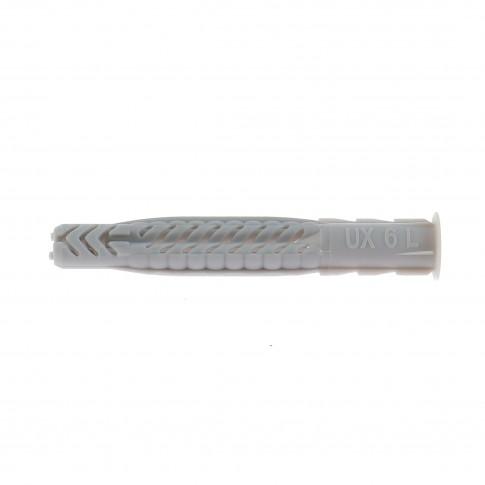 Diblu universal, cu guler, din nylon, Fischer UX, 6 x 50 mm