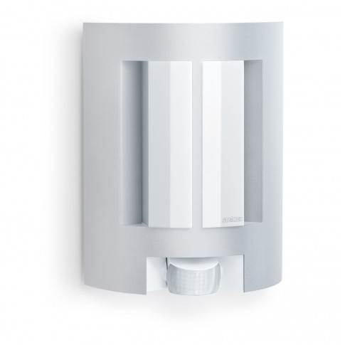 Aplica exterior 657710 cu senzor de miscare infrarosu L 11, argintie