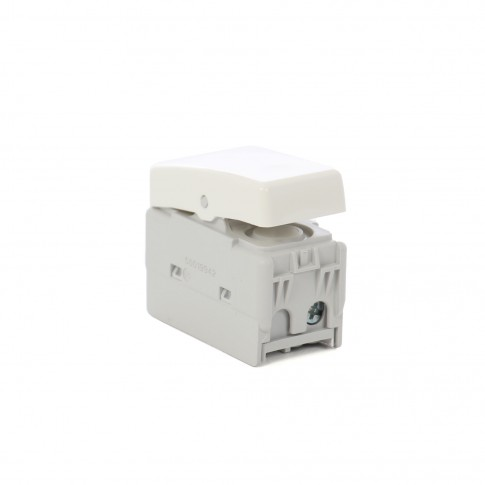 Intrerupator simplu Gewiss System GW20571 1P 16A, incastrat, modular - 1, alb, 5 bucati