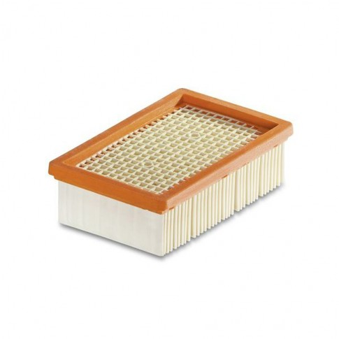 Filtru cutat plat pentru aspirator Karcher WD 4 / WD 5 / WD 6, cod 2.863-005.0, pentru aspirare umeda si uscata, 200 x 125 x 60 mm