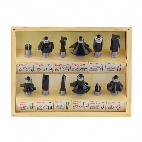 Set 12 freze lemn, Hikoki 500507, 8 mm