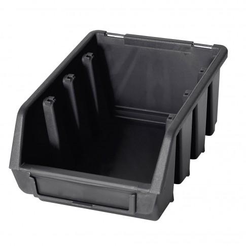 Cutie pentru depozitare, Patrol Ergobox 2, negru, 161 x 116 x 75 mm