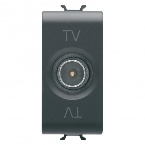 Priza TV Chorus GW12361, modulara - 1, neagra