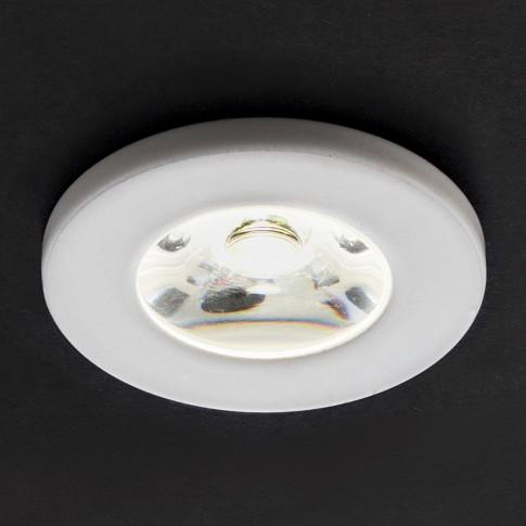 Spot LED incastrat MT 117 70320, 1W, lumina neutra, alb mat