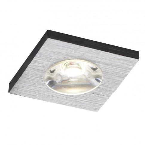 Spot LED incastrat MT 118 70323, 1W, lumina neutra, aluminiu