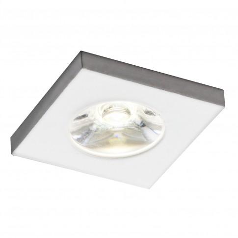 Spot LED incastrat MT 118 70322, 1W, lumina neutra, alb mat