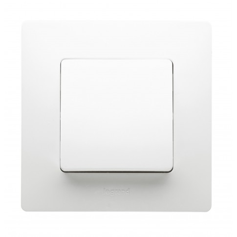 Intrerupator cap scara simplu Legrand 396450, incastrat , alb