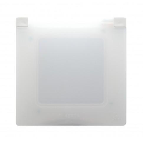 Capac protectie IP44-IK07 Legrand Niloe 397808, 1 post, alb