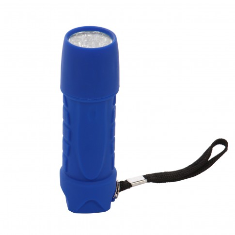 Lanterna LED Hoff, alimentare baterii (3 x AAA), ABS