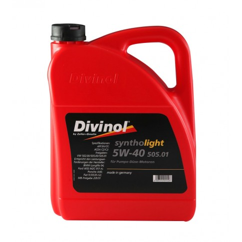 Ulei motor auto Divinol 505.01, 5W-40, 4 L
