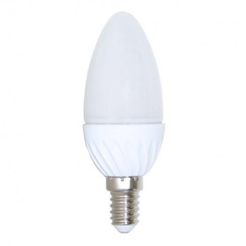 Bec LED Lohuis lumanare E14 4W 300lm lumina rece 6500 K