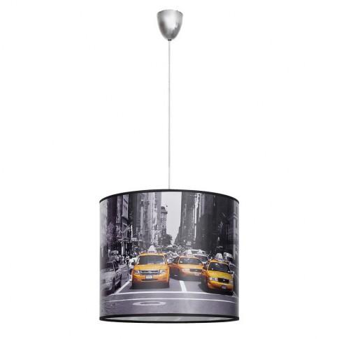 Suspensie New York 5146, 1 x E27, gri + galben