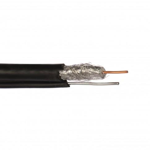 Cablu coaxial RG6 75R autoportant