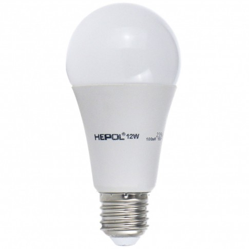 Bec LED Hepol clasic A60 E27 12W 1000lm lumina calda 3000 K