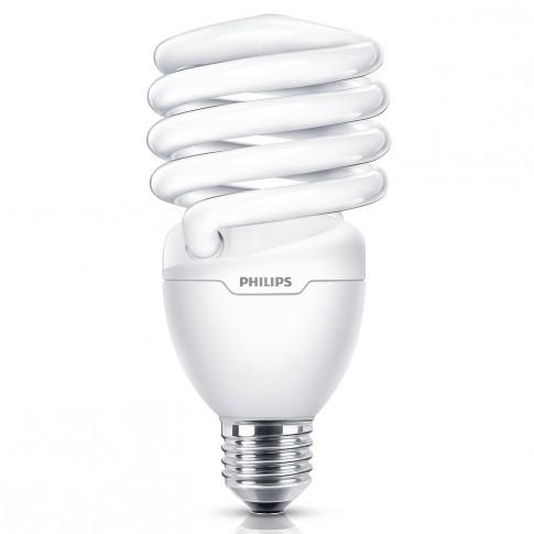 Bec economic Philips Tornado spiralat T2 E14 12W 705lm lumina rece 6500 K