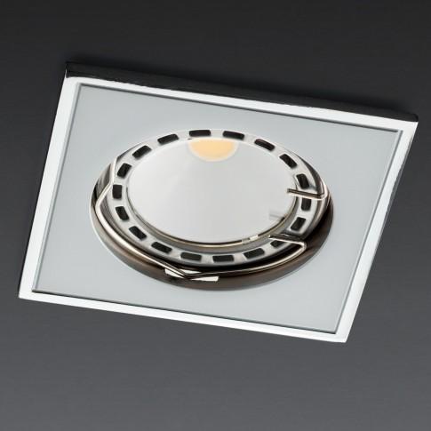 Spot incastrat MT 122 70332, GU10, perla crom / crom
