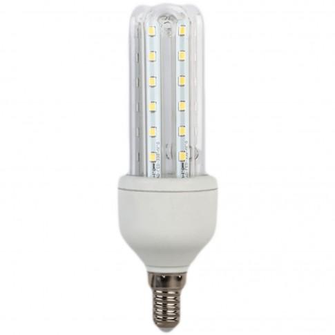 Bec LED Hoff tubular 3U E14 7W 700lm lumina rece 6500 K