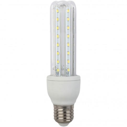 Bec LED Hoff tubular 3U E27 9W 900lm lumina rece 6500 K