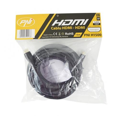 Cablu HDMI 1.4V PNI-HDMI, 15 m