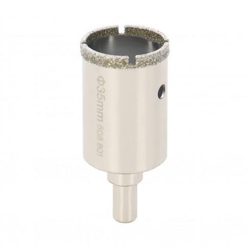 Carota diamantata, pentru placi ceramice, Bosch 2609256C87, 35 mm