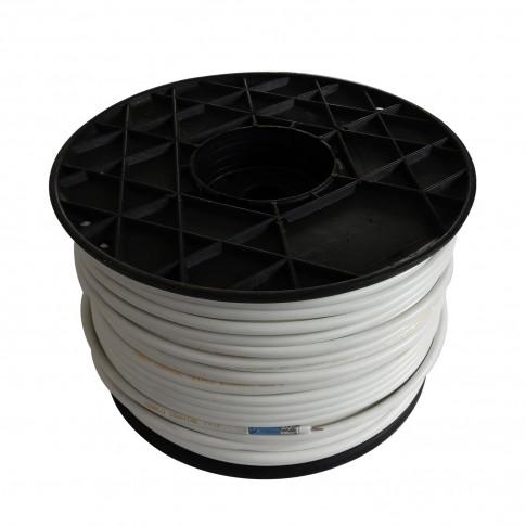 Cablu coaxial RG6/U triplu ecranat, otel cuprat