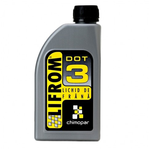 Lichid de frana auto, Lifrom, DOT 3, 430 ml