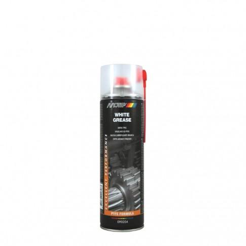 Spray vaselina Motip, 565, cu PTFE, alba, 500 ml