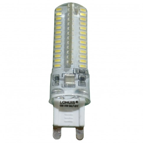Bec LED Lohuis mini G9 4W 350lm lumina rece 6500 K