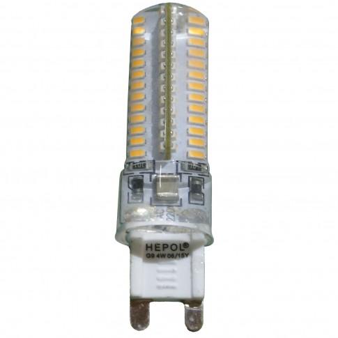 Bec LED Hepol mini G9 4W 320lm lumina calda 3000 K