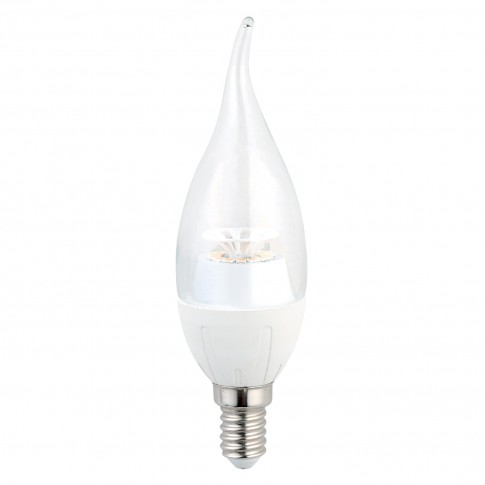 Bec LED Hoff lumanare fantezie E14 6W 540lm lumina rece 6500 K